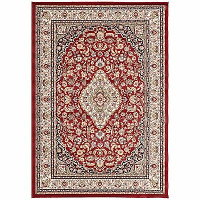 Traditionally decorated Persian carpet 'Red Kashan' rug