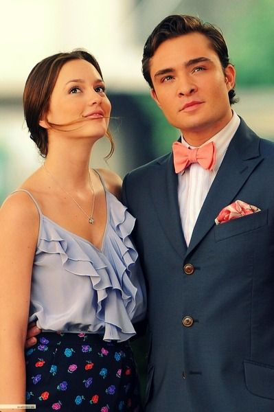 Chuck and Blair. Gossip Girl.