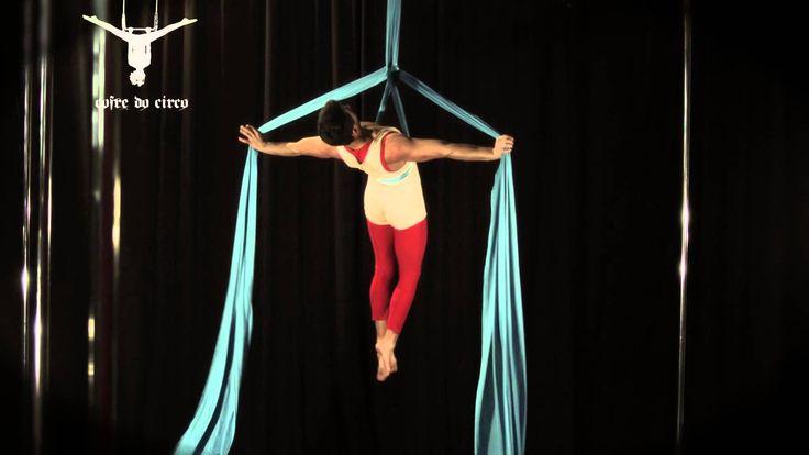 Aerial Silk - Hang Rope Variations 2   Tecido Acrobático - Estafa Variaç...