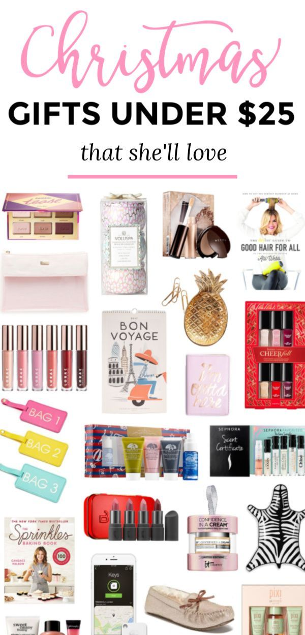 The Best Christmas Gift Ideas For Women Under 25 That She S Guaranteed To Love No Matter Who Y Christmas Gifts For Women Best Christmas Gifts Gifts For Teens