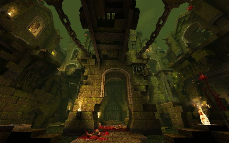 The most ambitious Quake map ever built has just been released in 2017 http://ift.tt/2wxMoki