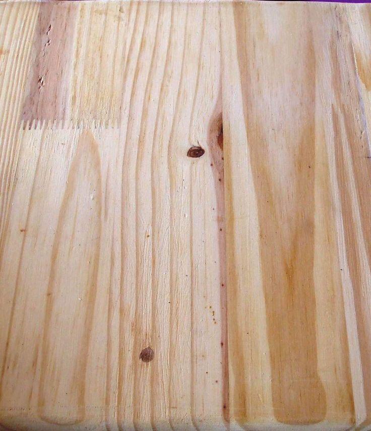 Como teñir una madera nueva