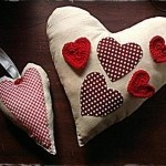 Laslappie Heart Mobile and Cushion