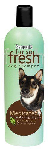 Sergeant's Fur-So-Fresh 21.8Ounce Medicated Dog Shampoo with Tea Tree Oil - http://www.thepuppy.org/sergeants-fur-so-fresh-21-8ounce-medicated-dog-shampoo-with-tea-tree-oil/