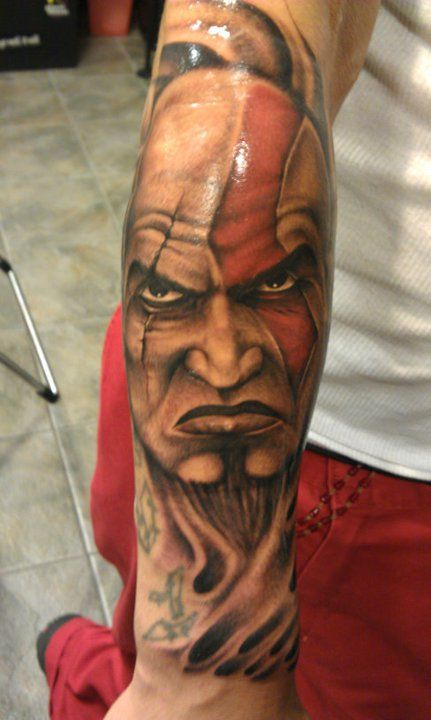 17 best images about tattoo god of war on pinterest for Kratos tattoo design