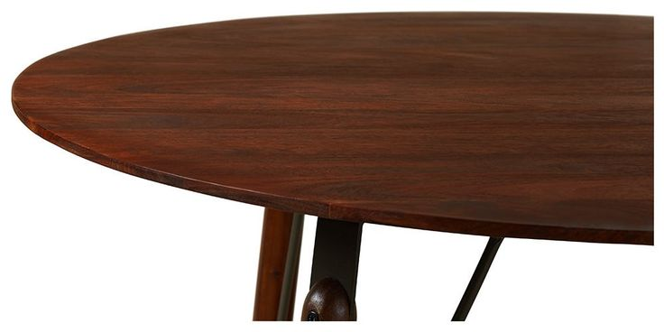 Swoon Editions Dining table, contemporary-style in rosewood- £329