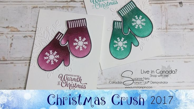 Smitten Mittens Card featuring Stampin' Up!® Products