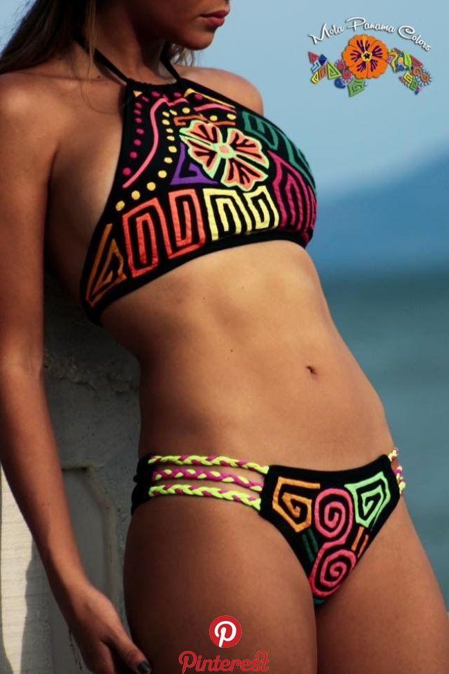da38dea114fd Molas....Panama | Swimsuits in 2019 | Pinterest | Bikinis, Swimwear ...