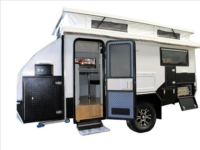 Cool New JAWA TRAX15 Offroad Hybrid Caravan Sleeps 2  4 For Sale In