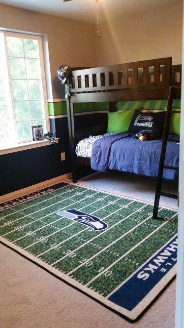 Ultimate Seahawks Room 12th Man In 2019 Kids Bedroom