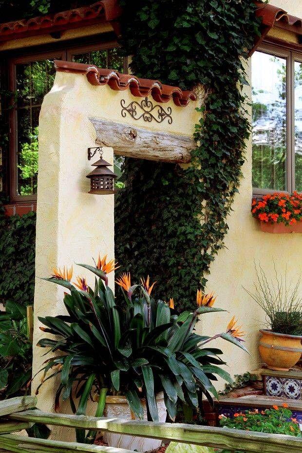 Plantas jard n colonial en 2019 casas de estilo espa ol - Detalles de decoracion para casa ...