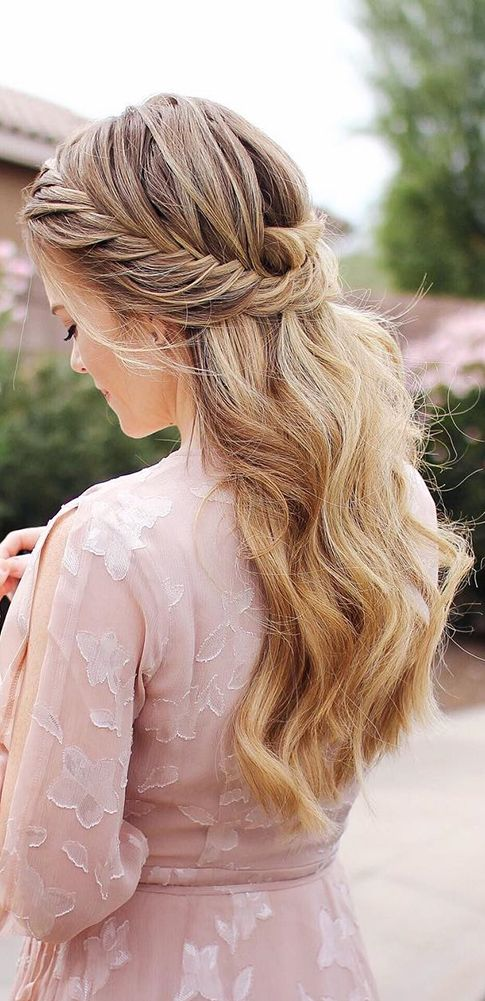 35 Beautiful Wedding Hairstyles For Long Hair: Best 25+ Wedding Hairstyles Long Hair Ideas On Pinterest