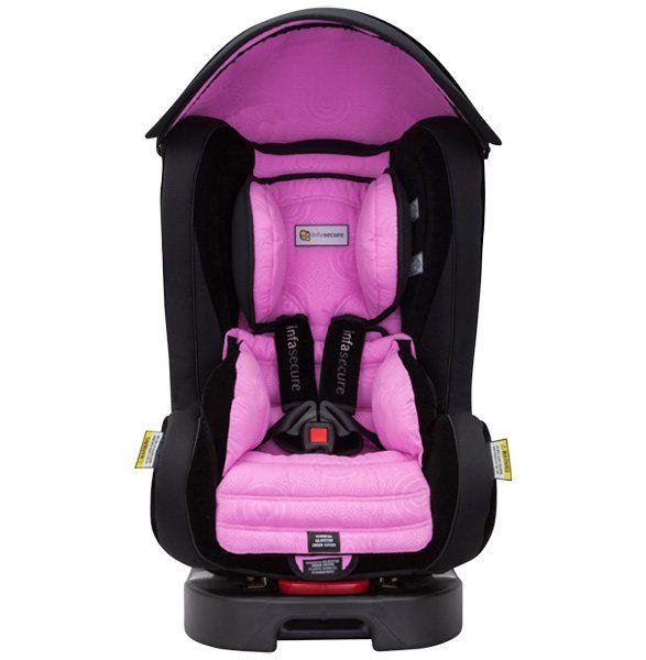 Win one of four InfaSecure pink swirl Kompressor Caprice car seats – Prizeapalooza day 31