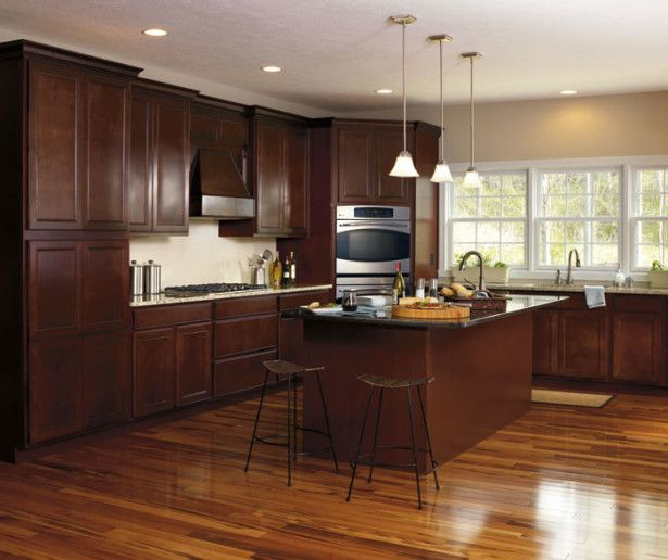 Kitchen Paint Colors With Dark Maple Cabinets: 17 Best Ideas About Maple Kitchen Cabinets On Pinterest