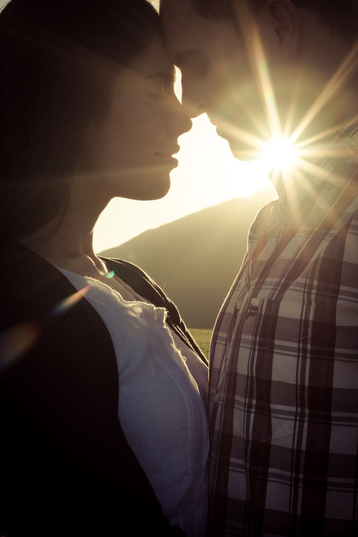 Our sunset farm engagement shoot - photos by Christelle Rall Photogaphy