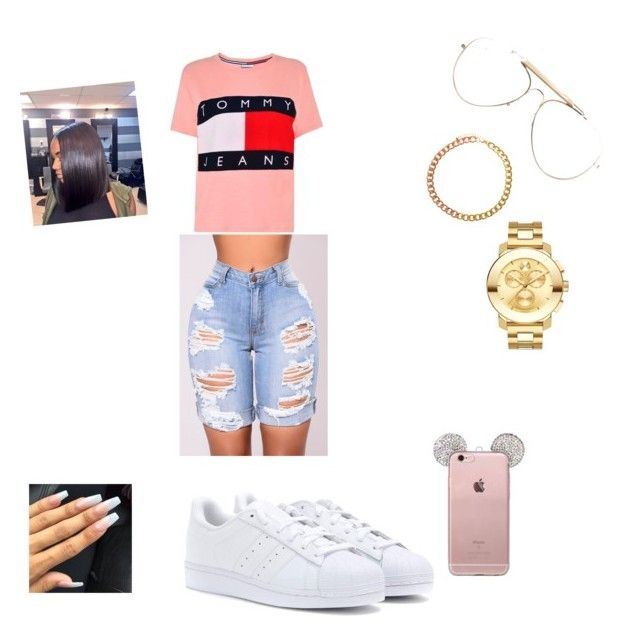 Issa Bank Account by exxoticdarkskinn on Polyvore featuring polyvore, Mode, style, Tommy Hilfiger, adidas Originals, Movado, ASOS, CÉLINE, fashion and clothing