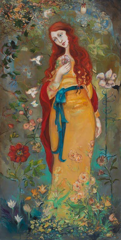 Mary Magdalene met ei Cassandra Barney: Mary Magdalene