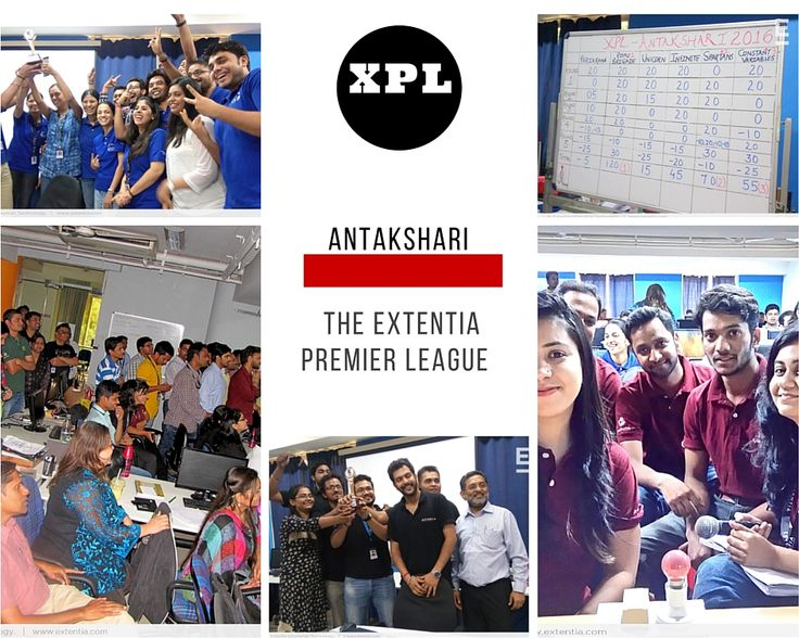Starting the new XPL event season with our Antakshari competition! The Unicorns House organized this event which showcased everyone's knowledge and singing performance of Bollywood songs! Congrats to the winners: Royal Brigade! www.extentia.com