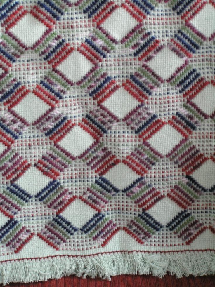 Soft Sage Green Swedish Weave Blanket