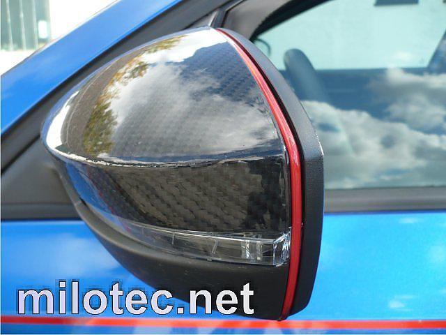 designová lišta na zpětné zrcátka pro vozy Škoda Octavia II. Facelift / Superb II. / Octavia III. / Rapid / Citigo / Yeti / Fabia III. / Superb III