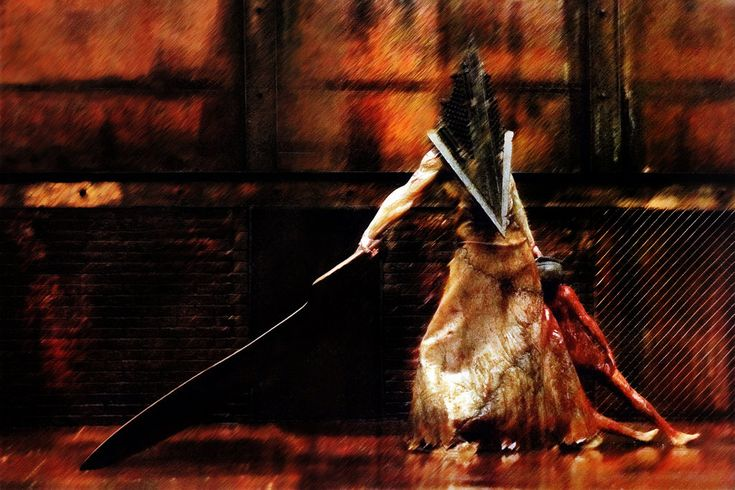 Piramid Head - Silent Hill | Creep | Pinterest | Silent hillSilent Hill Revelation Pyramid Head Fight Scene