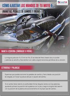 Cómo ajustar los mandos de tu moto II