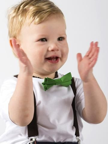 Baby Bow Tie & Suspenders Kit for Christmas. Newborn to 4 years old. Limited edition. - baby luno