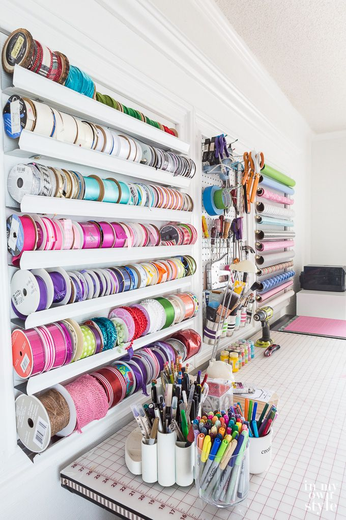 March is National Craft Month and as a way to celebrate I am excited to be taking part in a bloggers craft room tour where 25 bloggers are sharing how they decorate, organize and work in in their workspace, studio, craft room, or home office.