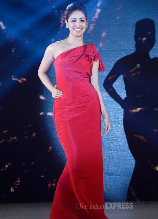 Yami (Yaami) Gautam at a 'TITAN Raga' launch event. #Bollywood #Fashion #Style #Beauty #Cute #Hot