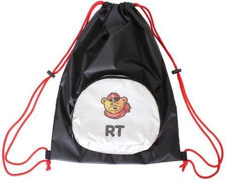 Мешок-рюкзак RichToys на самокат и велосипед - Призрачный гонщик черный складной  — 459р.