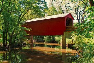 Sugar Creek Covered Bridge | by C McSheridan