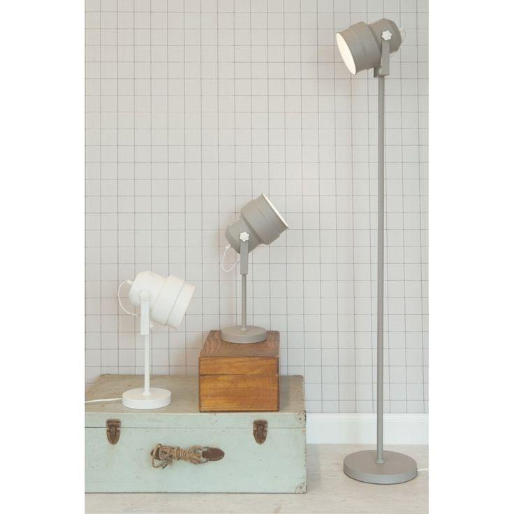 Leitmotiv Studio Vloerlamp - Grijs