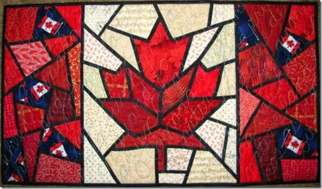 Canada Day quilt