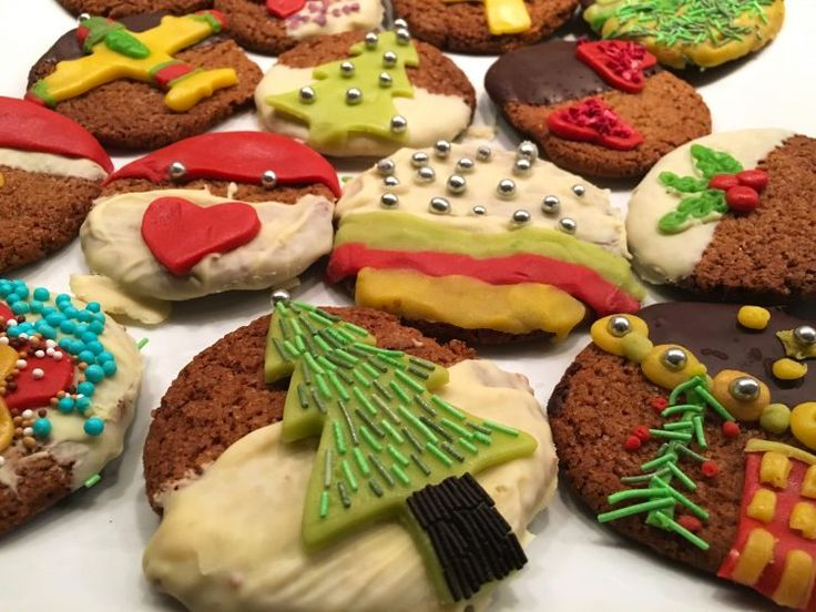 Crispy Christmas Cookies