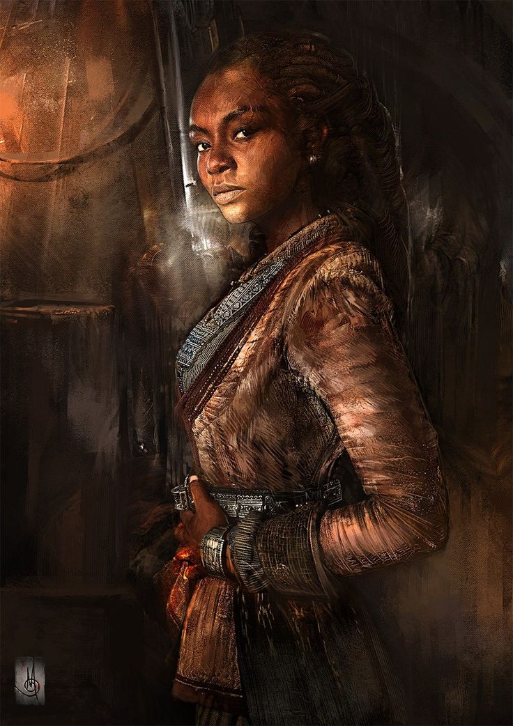 "we-are-rogue: "" ""Madi"" from Black Sails TV Series by Murat Gül """
