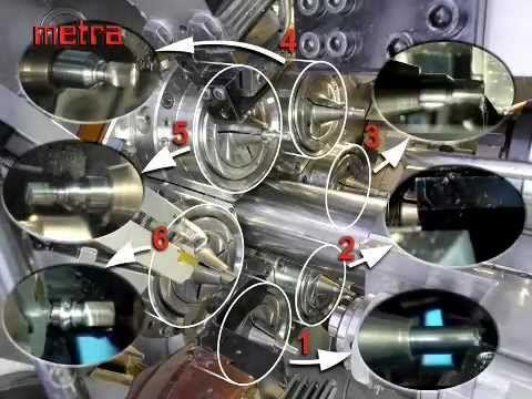 MULTI SPINDLE AUTOMATIC LATHE   TURNING MACHINE