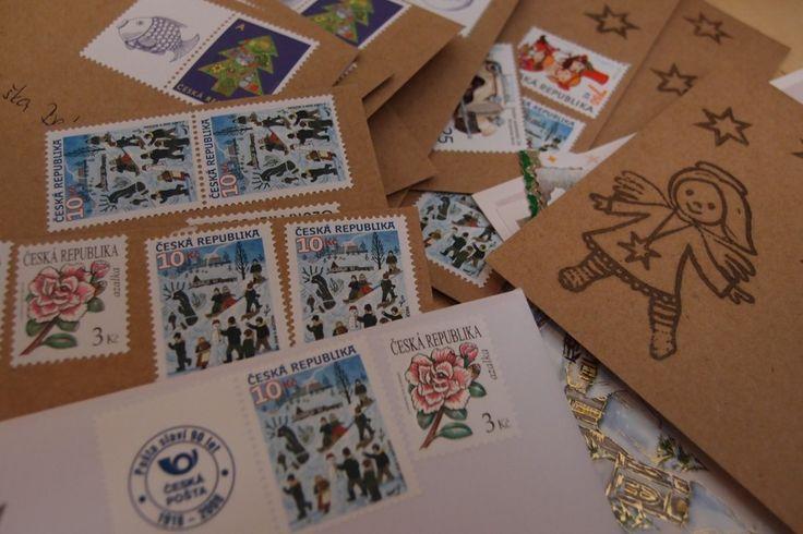 Christmas time... cute picture, nice postal stamp... make joy  www.vjahodovce.blogspot.com