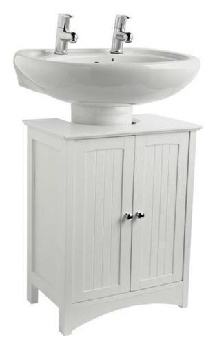 Under Basin Sink Storage Unit White