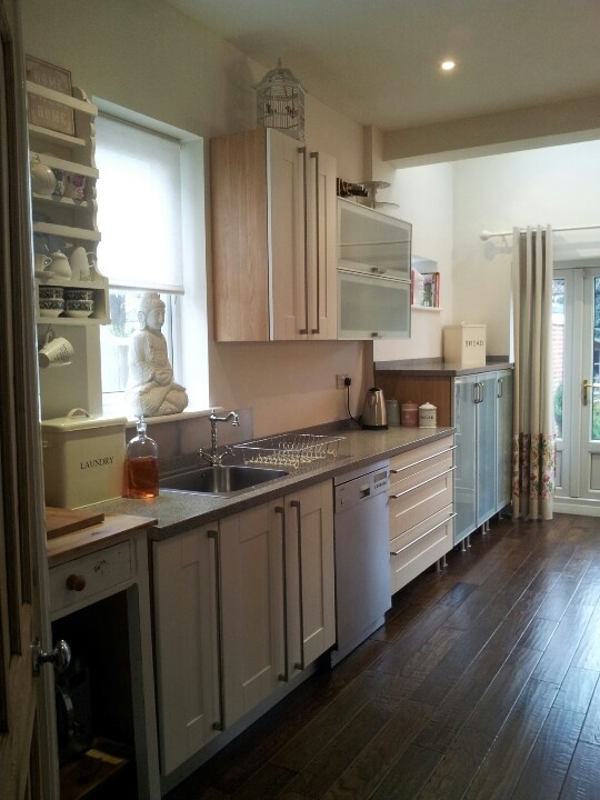 Pinterest Shelves Cottage Style Kitchens And Galley Kitchen Design