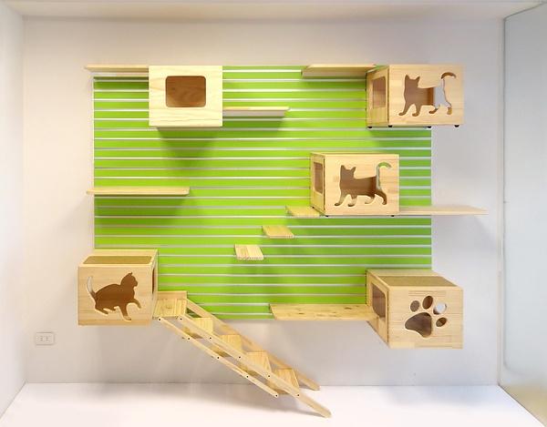 Cat Room Ideas... Http://sepudesign.pixnet.net/