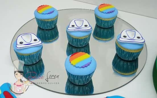 #dulceloren #Topa #juniorexpress #mesadulce #minicupcakes