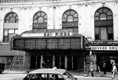 History Bay Ridge Brooklyn   the old bay ridge theater the book says the late 1960s but i suspect ...