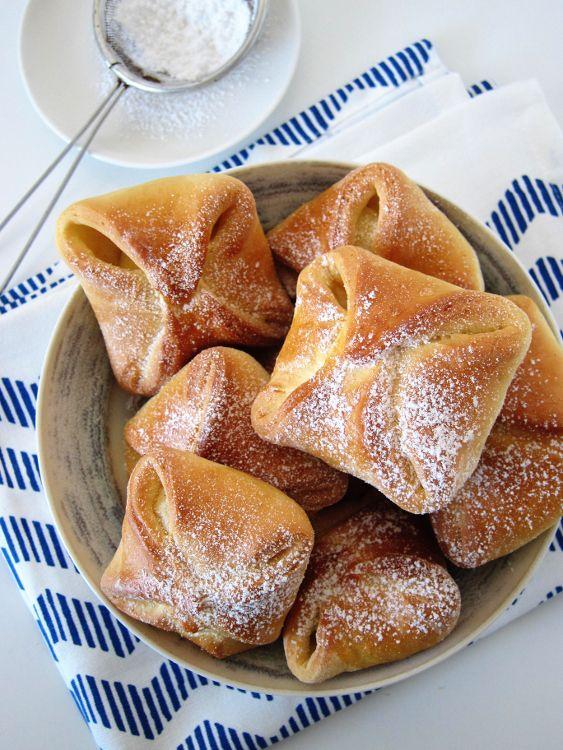 drożdżówki z serem - kołoczki
