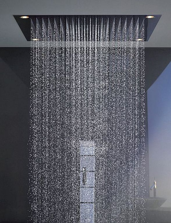 20 Awesome Rainfall Shower Head Design Ideas For Luxury Bathroom