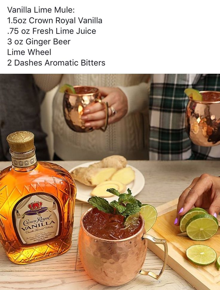 Best 25 crown royal vanilla recipes ideas on pinterest crown try our crown royal vanilla lime mule cocktail recipe with crown royal vanilla whisky ginger beer and bitters forumfinder Images