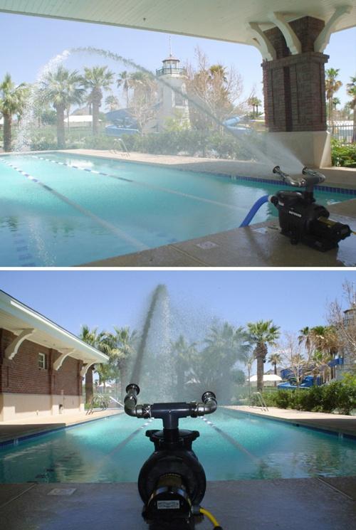 Swimming Pool Aeration : Watercannon swimming pool aerator equipment