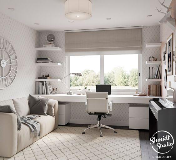 47 industrielle Wohnzimmer-Dekor-Ideen die Sie seh…