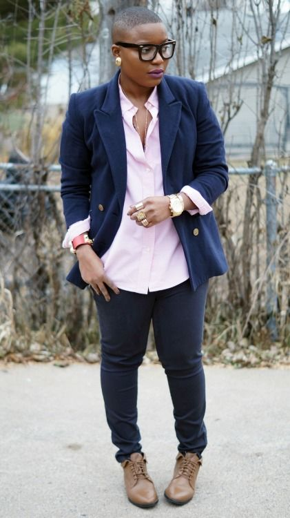 Ask DapperQ - Curvy Androgyny