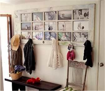 Yesterday, I posted a tutorial on how to Repurpose An Old Door Into A Beautiful Table… Today, I have an entirely different way to repurpose an old french door and it's super cool. Try using that old door to display family photos! Love it. Kind of reminds me of those photo room divider panels. But I […]