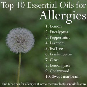 10 Best Essential Oils for Allergies & 5 Remedies for Instant Relief #naturalasthmarelief #naturalasthmacures #instantasthmarelief
